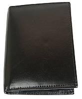 Вертикальное мужское портмоне из кожи ALWAYS WILD SBLM03CFL черный
