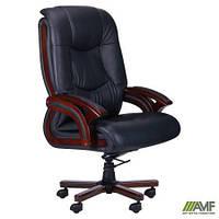 Крісло Ванкувер, шкіра чорна (625-B+PVC) AMF