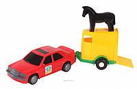 Игрушечная машинка Авто-мерс с прицепом 39003