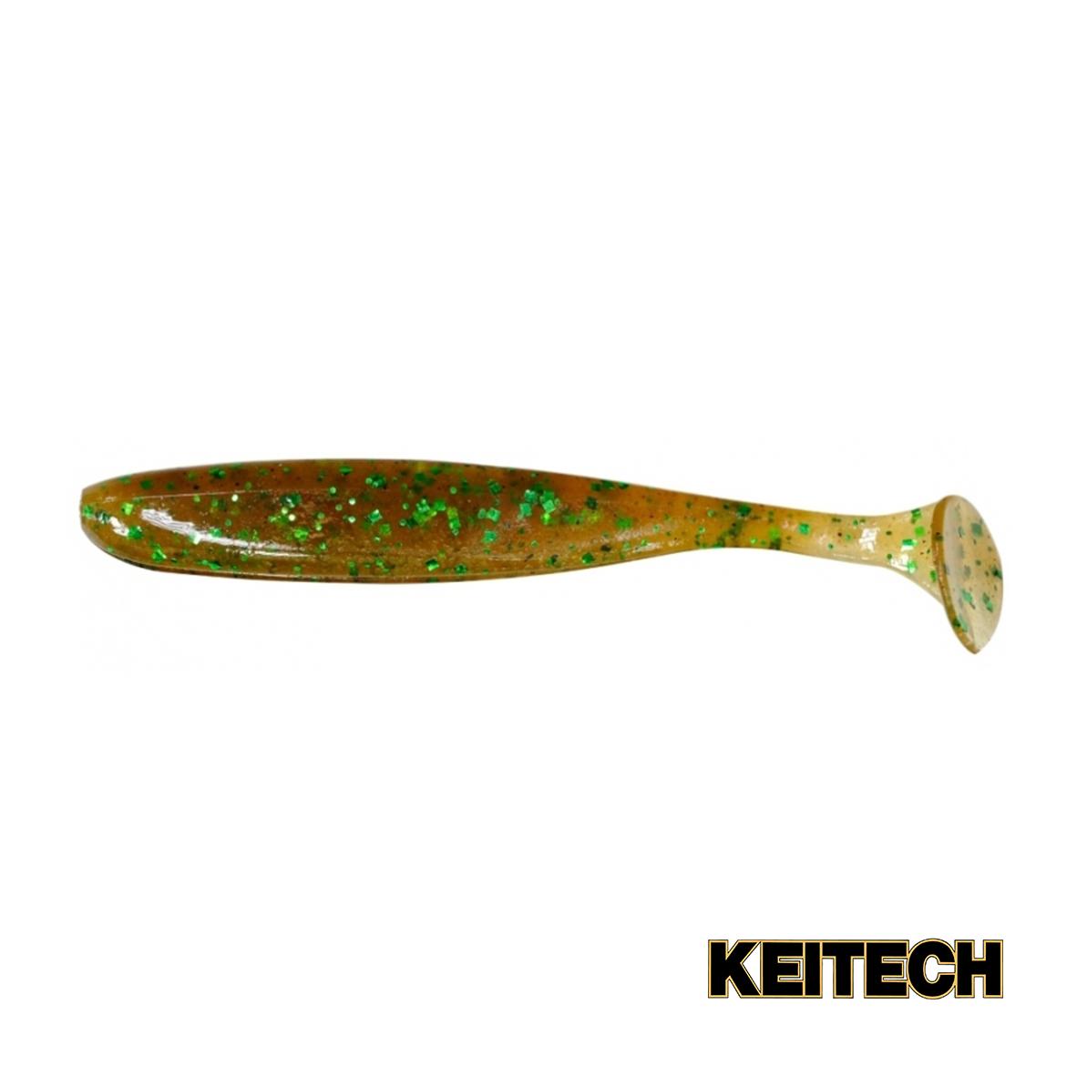 """Силикон Keitech Easy Shiner 4.5"""" (6 шт/упак) ц:ea#02 peach green"""