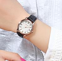 Женские наручные часы 2018 Sanda 215 Black White