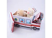 Пуф-ящик для игрушек Скорая помощь 227-18918601