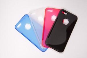 Чехол для iPhone 6 гибкий прозрачный TPU