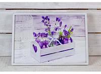 Поднос на подушке Цветочное настроение 380-9714662