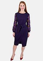 Женское модное платье с запахом 44-50 р ( разные цвета )
