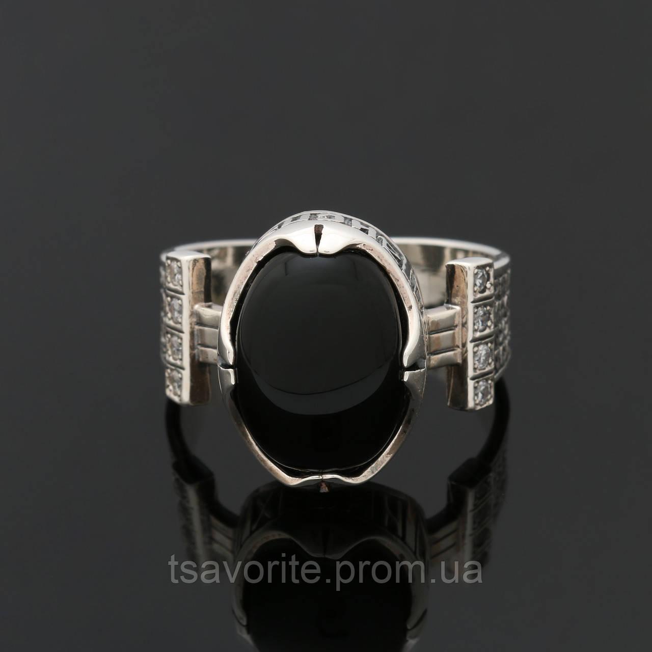 Мужское серебряное кольцо 2160028
