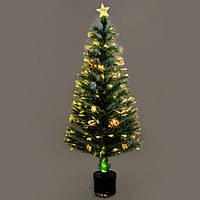 Новогодняя, светящаяся, оптоволоконная, елочка 150 см