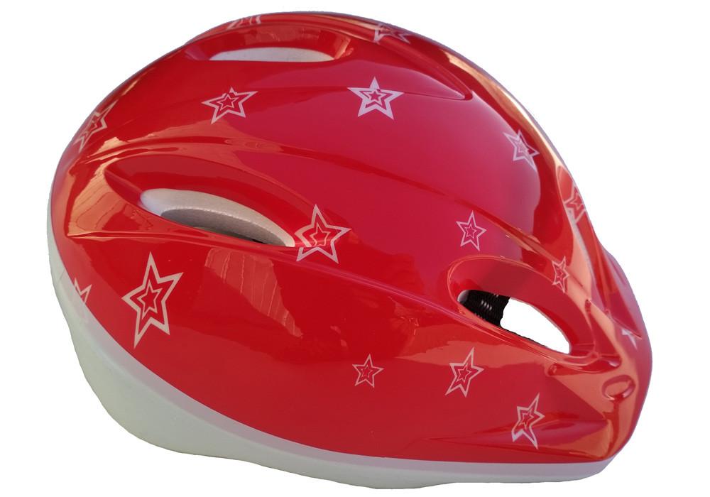 """Шлем детский DN-45-16 """"Яйцо"""" красный"""