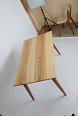 Стол Рондо ( 1,30 м.) (натуральный + орех), фото 2