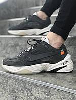 Мужские кроссовки Off White x Nike Air Monarch The M2K Tekno