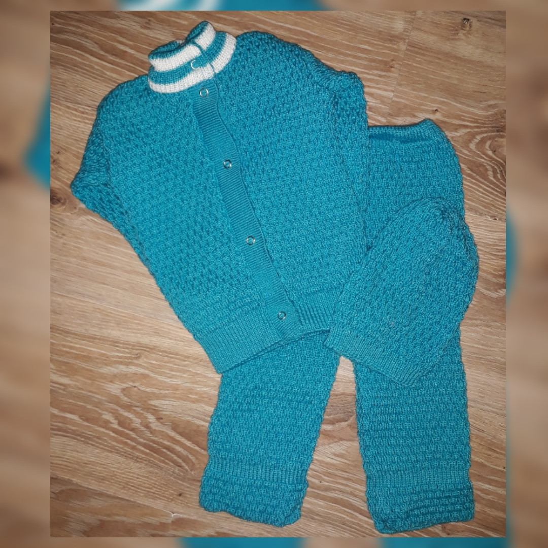 костюм детский вязаный размер 2 продажа цена в харькове костюмы