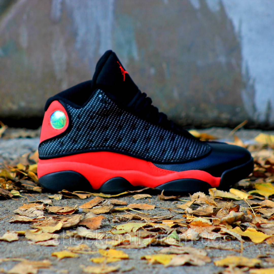 c0e3f3f0 Купить Баскетбольные кроссовки Nike Air Jordan 13 Black Red White ...