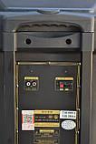 Колонка Temeisheng SL 15-08 з акумулятором, 15 дюймів, 2 мікрофона, MP3, Bluetooth, USB, SD, 150W, фото 2