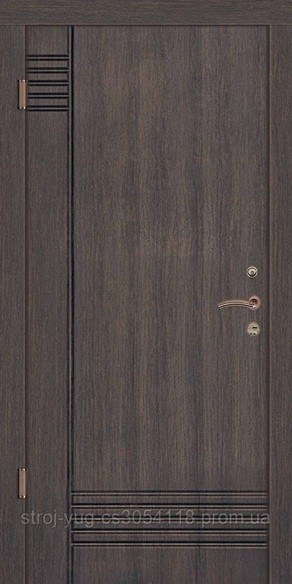 Дверь входная металлическая «Элегант», модель Лайн, 850*2040*70