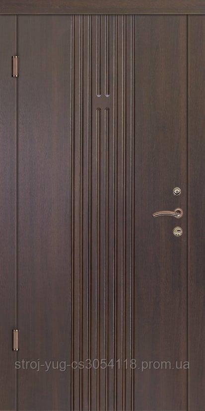 Дверь входная металлическая «Элегант», модель Лайн 2, 850*2040*70