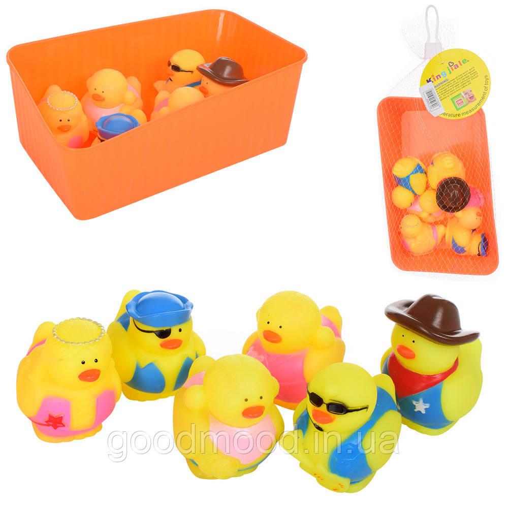 Тварина 32865 для купання, курча, 6 шт., бризкавка, в ящику, сітка, 21-13-8 см.