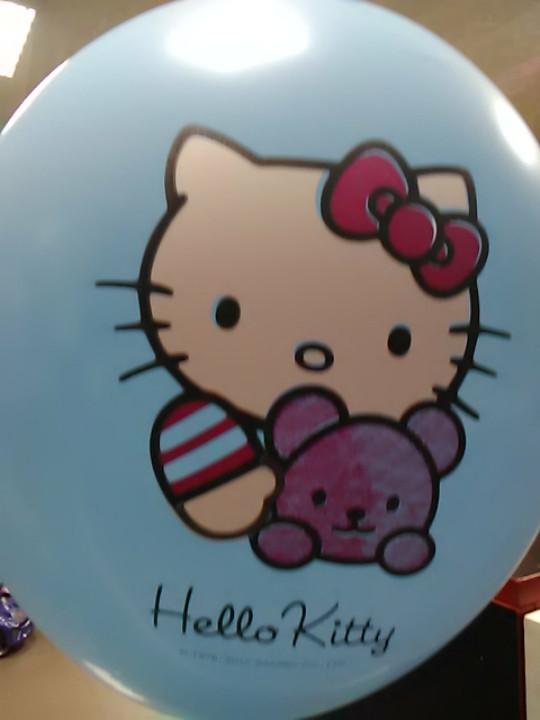 Гелиевый шарик 12 дюймов с рисунком  Китти