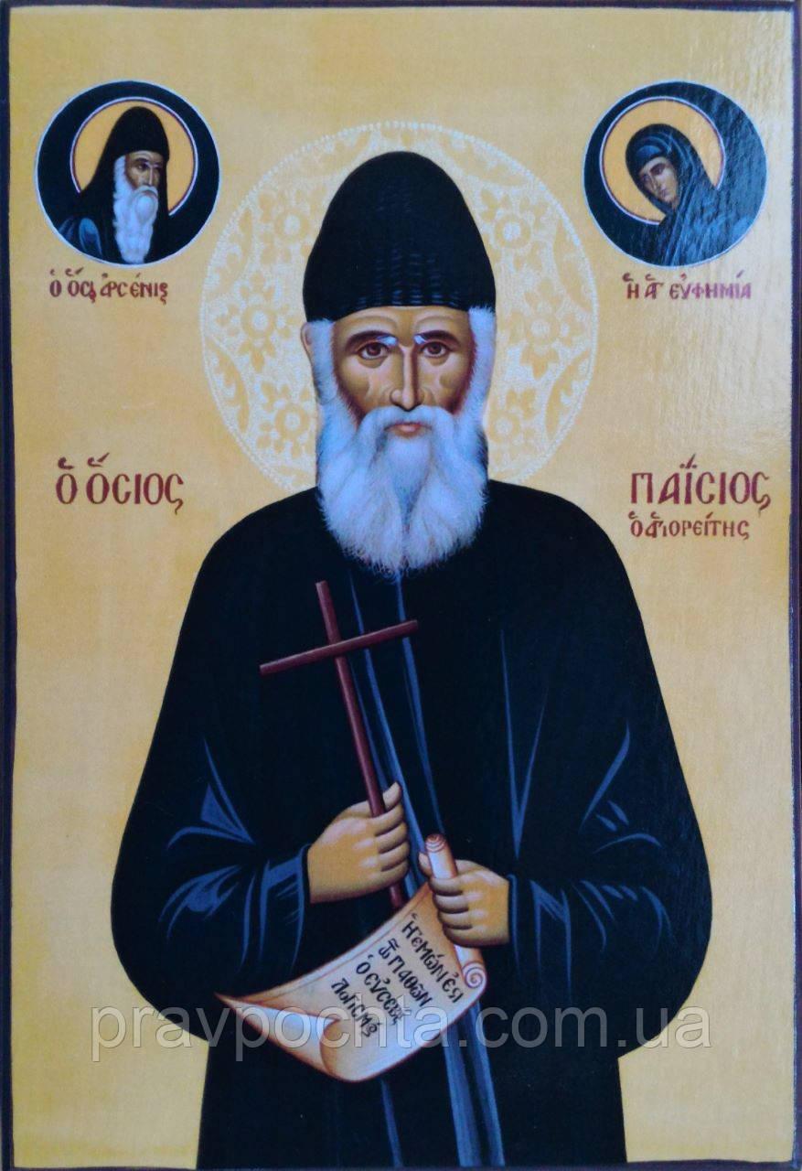 Икона. Преподобный Паисий Святогорец (средняя)