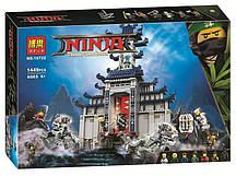 """Конструктор Ninjago Movie Bela 10722 """"Храм Последнего великого оружия"""" (аналог Lego 70617), 1449 дет."""