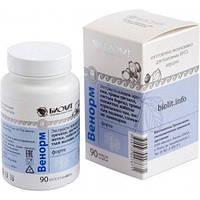 Венорм Форте 90 Капсул - средство от варикозного расширения вен (варикоза) и геморроя