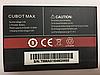 Оригинальный аккумулятор ( АКБ / батарея ) для Cubot Max 4100mAh