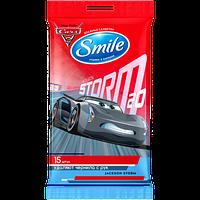 Влажные салфетки Smile Disney Тачки 15 шт