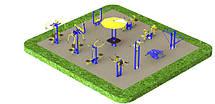 Проекти вуличних майданчиків тренажерів