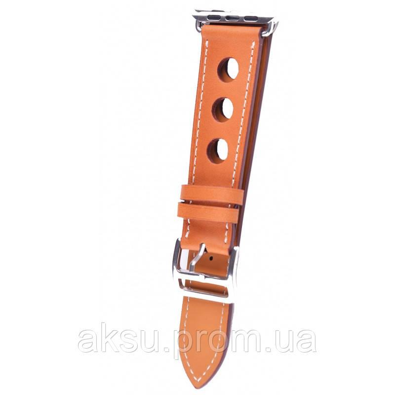 Ремешок для Apple Watch Leather Classic Perfo 38 mm/40 mm Brown