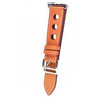 Ремешок для Apple Watch Leather Classic Perfo 38 mm/40 mm Brown, фото 1