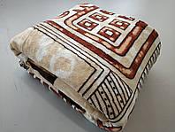 Микрофибровая простынь, плед, покрывало Elway евро Египет коричневый