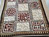 Микрофибровая простынь, плед, покрывало Elway евро Египет коричневый, фото 4