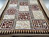 Микрофибровая простынь, плед, покрывало Elway евро Египет коричневый, фото 5