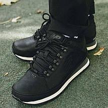 Оригинальные Мужские Ботинки NEW BALANCE HL754BN Black Черные с мехом Зимние, фото 3