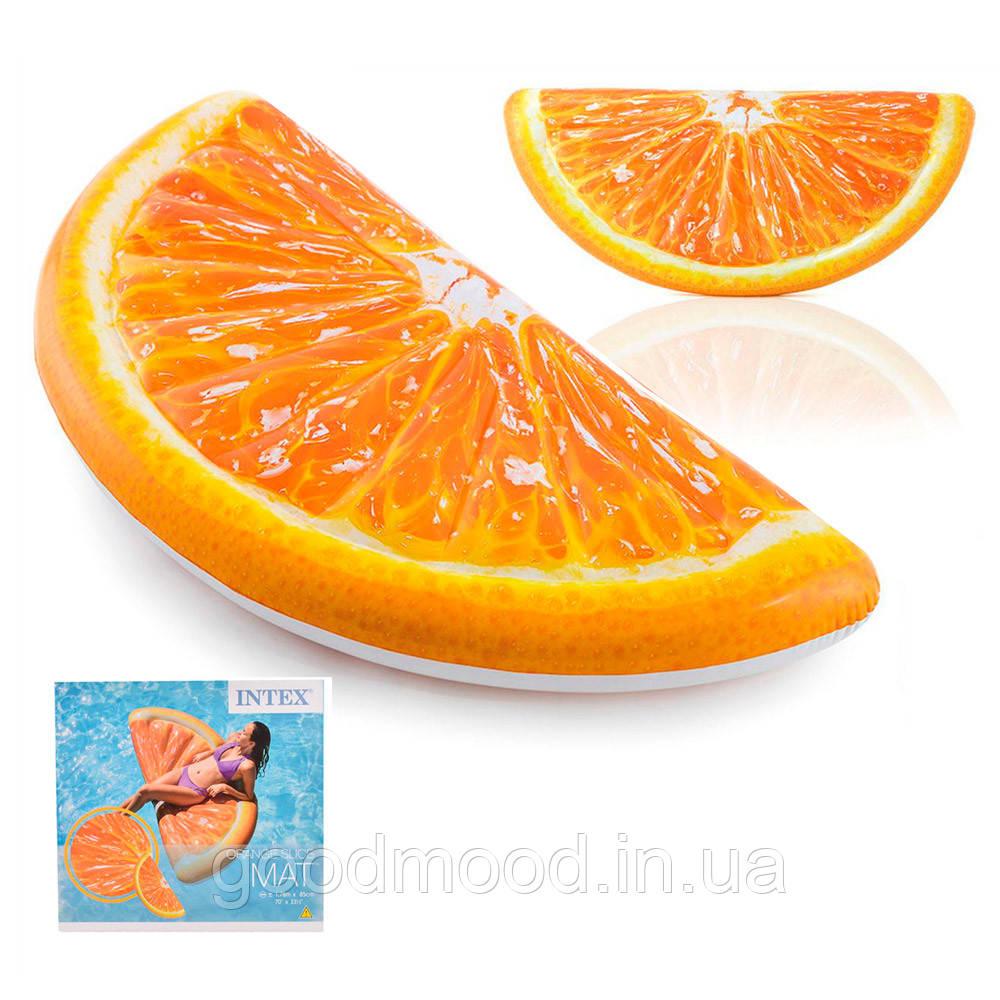 Матрац 58763 апельсин, ремкомплект, кор., 178-85 см.