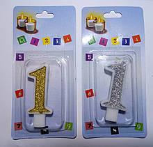 Свічки для торта цифри Україна якість цифра 1