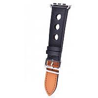 Ремешок для Apple Watch Leather Classic Perfo 42 mm/44 mm Black