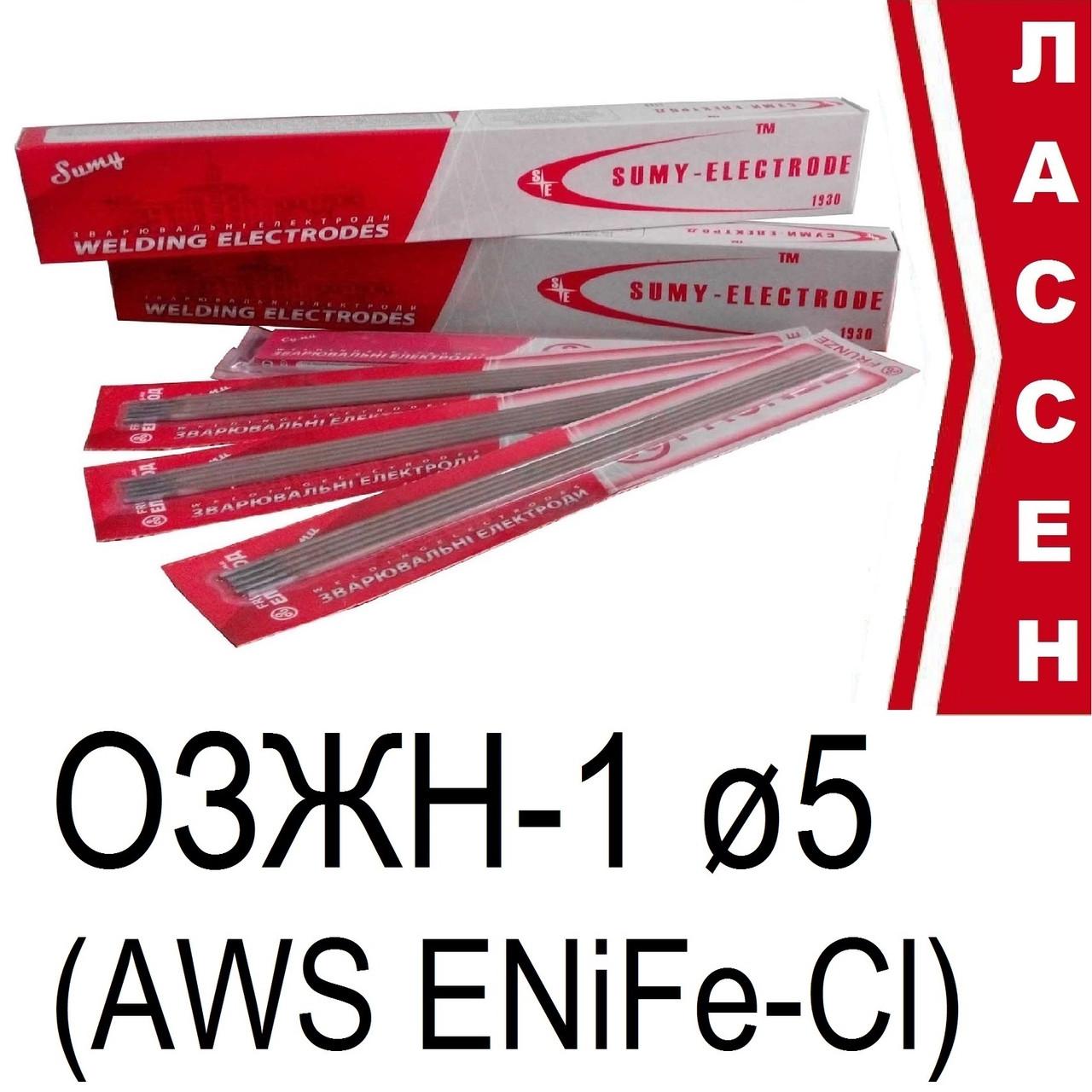 Электроды сварочные ОЗЖН-1 ø5мм (2,5кг) AWS ENiFe-CI