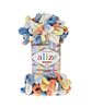 Alize Puffy Color (Ализе Пуффи Колор) № 5866 (Пряжа, нитки для вязания руками)