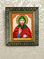Схема для вышивки бисером именная икона Антоний