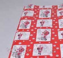 Папір для пакування подарунків 10 м Новорічна Marry Christmas