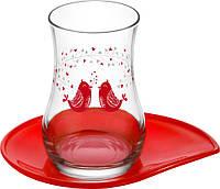 Рюмки з серії side (турецькі склянки) 145 мл 4 пр. LAV Serenat