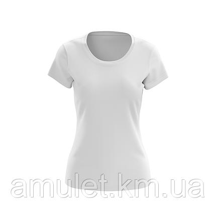 Футболка жіноча бавовняна PENIE біла, фото 2