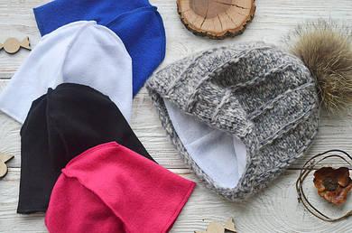 Флисовые подкладки для шапок