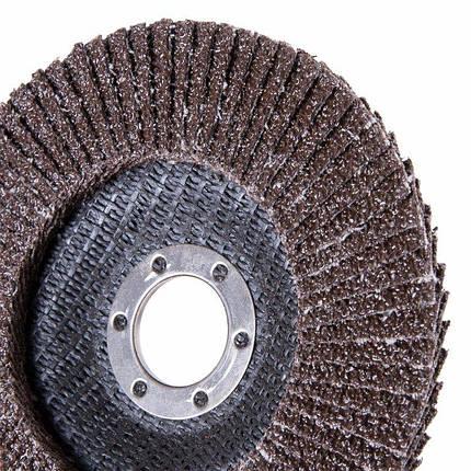 Круг лепестковый торцевой Дніпро-М Р36, 1 шт/уп, фото 2
