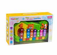 Детское пианино ксилофон hc227546 Лесные животные