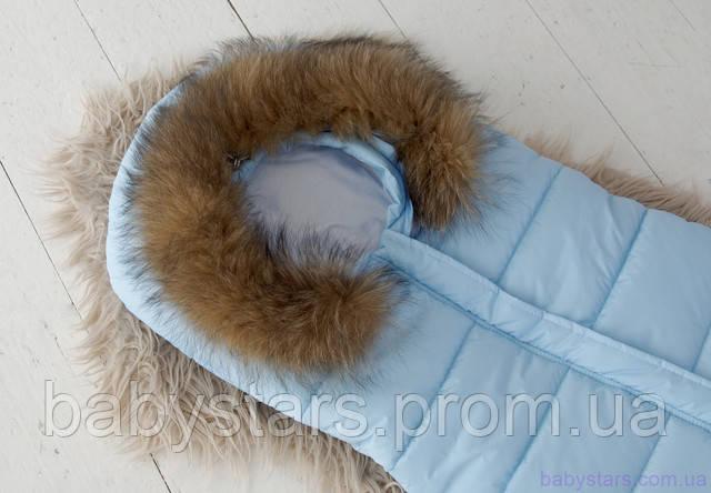 Конверт мешок для новорожденных зимний