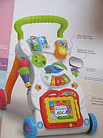 Развивающая игрушка Каталка ходунки игровой центр каталка HE0801