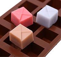 Форма для шоколада Конфеты квадратные