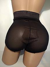 Женские корректирующие, утягивающее трусики с атласными вставками, фото 2
