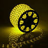 Гирлянда Дюралайт светодиодный шланг, Желтый, круглый, 100м., фото 2